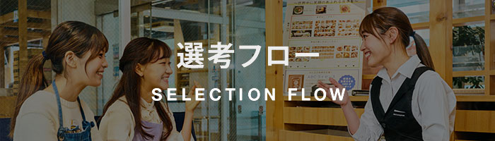SELECTION FLOW/選考フロー