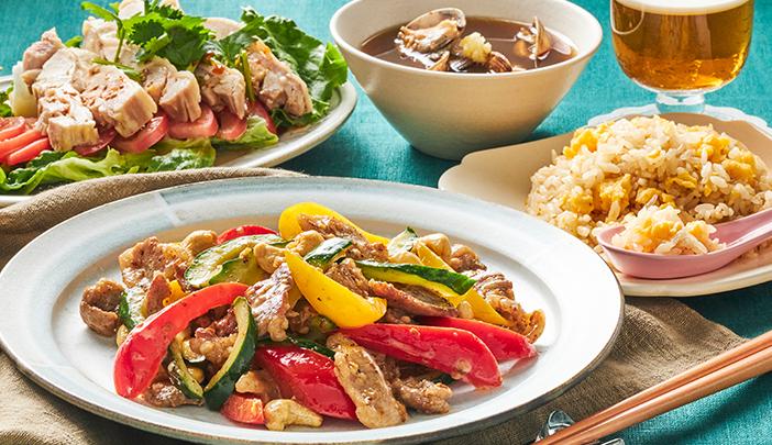 新調味料を使って、時短で簡単!夏のラクうまおうち中華