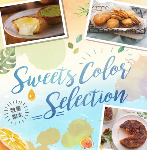 Sweets Color Selection _sp